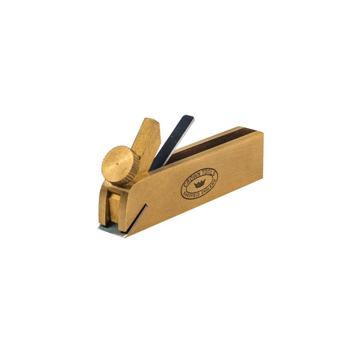 "Crown Tools Brass Miniature 3"" Bullnose Plane-Crown Hand Tools UK-Hawi tools-هاوي عدد"