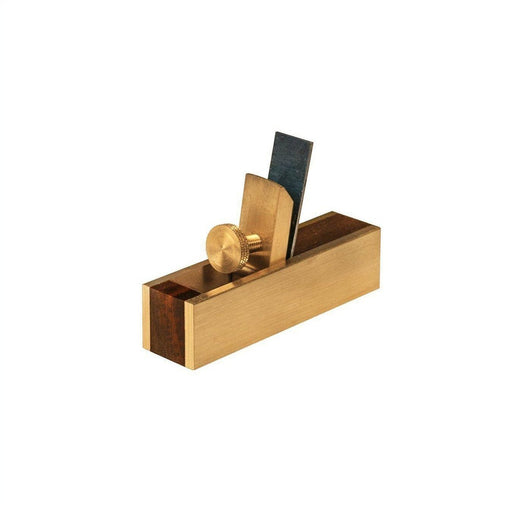 "Crown Tools Brass Miniature 3"" Scraper Plane-Crown Hand Tools UK-Hawi tools-هاوي عدد"