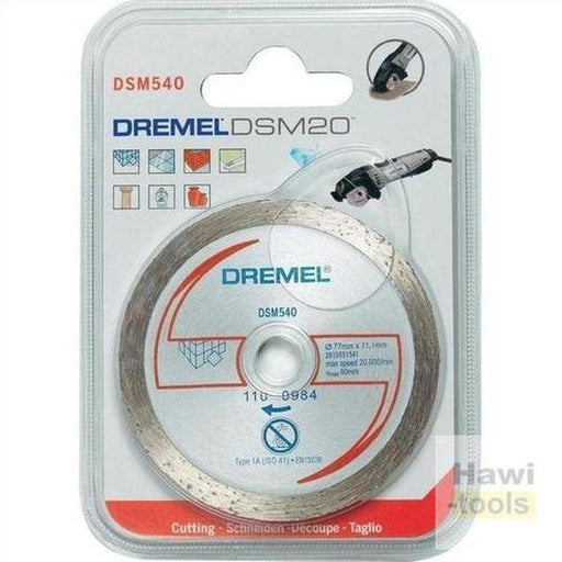 Dremel 2615s540ja Tile Cutting Wheel Dsm20 [Energy Class A] ديسك قص حديد-DREMEL-Hawi tools-هاوي عدد