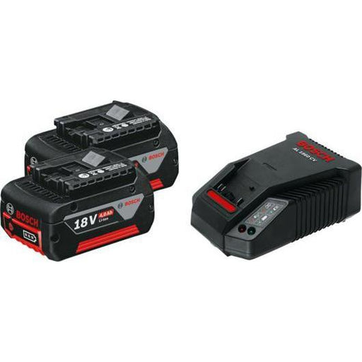 Starter Set2 x GBA 18V 4.0Ah + AL 1860 CV Professional-Battery Charger / شاحن بطارية-BOSCH Tool select-Hawi tools-هاوي عدد