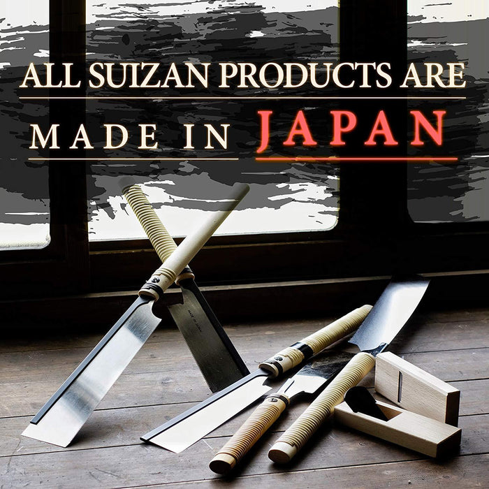 SUIZAN Japanese Saw 10-1/2 inch Kataba (Single Edge) Pull Saw for Woodworking-SUIZAN-Hawi tools-هاوي عدد