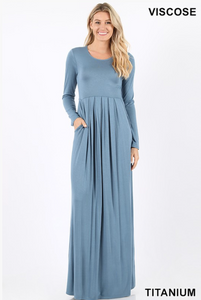 Long Sleeved Lounge Dress, , mouth-of-the-south-psf.myshopify.com, Mouth of the South PSF