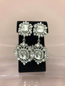 Double Marquise Rectangle Earrings, , mouth-of-the-south-psf.myshopify.com, Mouth of the South PSF