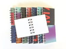 Spiral Bound ATC Notebook With Cardstock Pages