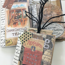 3 One-Sheet Mini Books and Collage Techniques Online Class