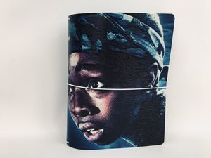 Custom Keeper notebook cover featuring Lucas from Stranger Things.