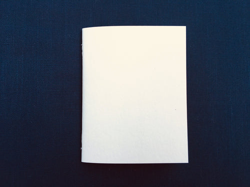 A6/JR Text Weight Blank Bound Notebook Insert with SuedeTex® Covers