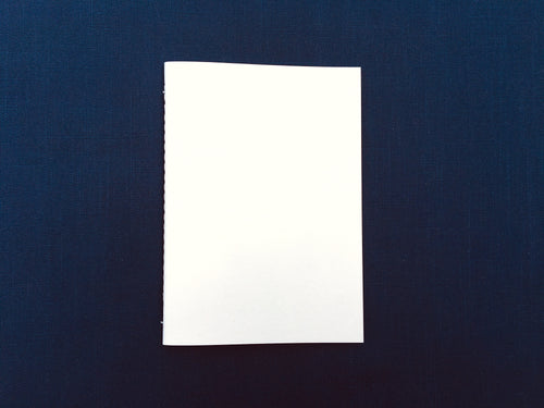 A5 Text Weight Blank Bound Notebook Insert with SuedeTex® Covers