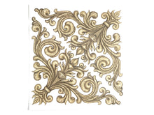2 Baroque Style Corner Waterslide Decals