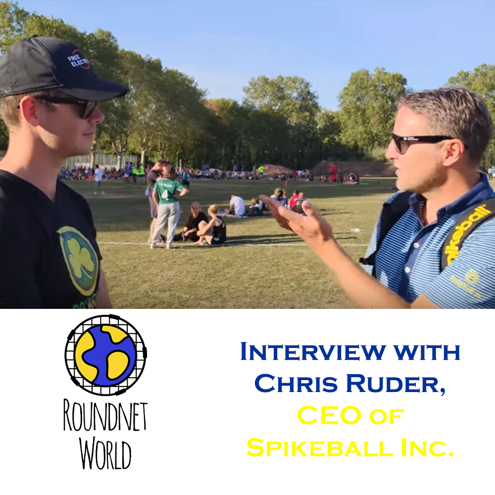 Interview with Chris Ruder, CEO of Spikeball