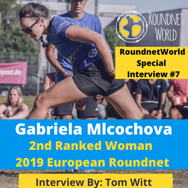 Roundnet World Isolation Special Player Interview #7 - Gabriela Mlcochova - 2019 European Roundnet Mixed 3rd Place - Czech Republic Roundnet