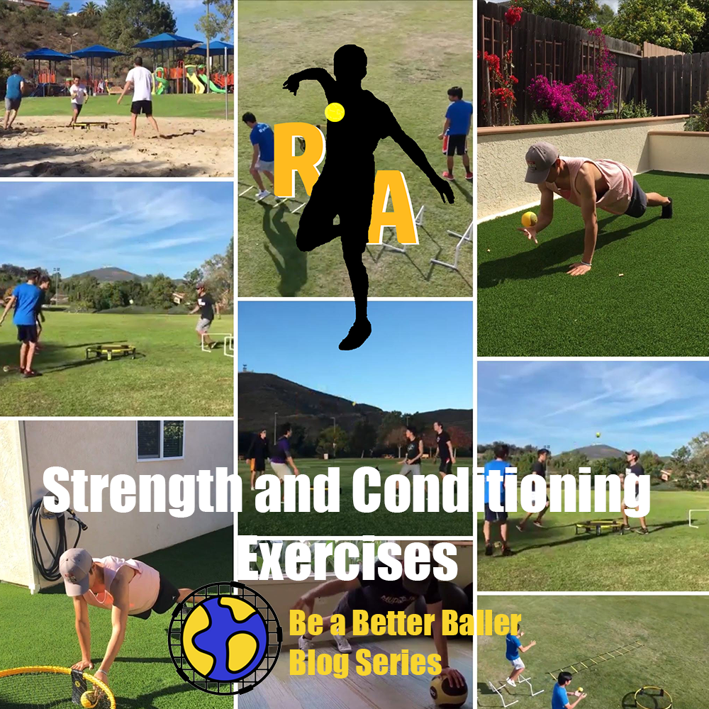 Roundnet Athlete - Strength and Conditioning Exercises