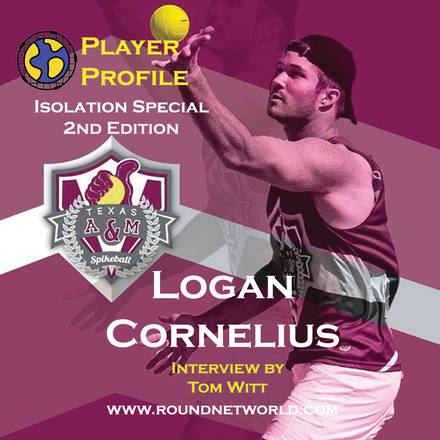 Roundnet World Isolation Special Player Interview #2 - Logan Cornelius - National Champion - 2019 Spikeball Roundnet Nationals Premier Division