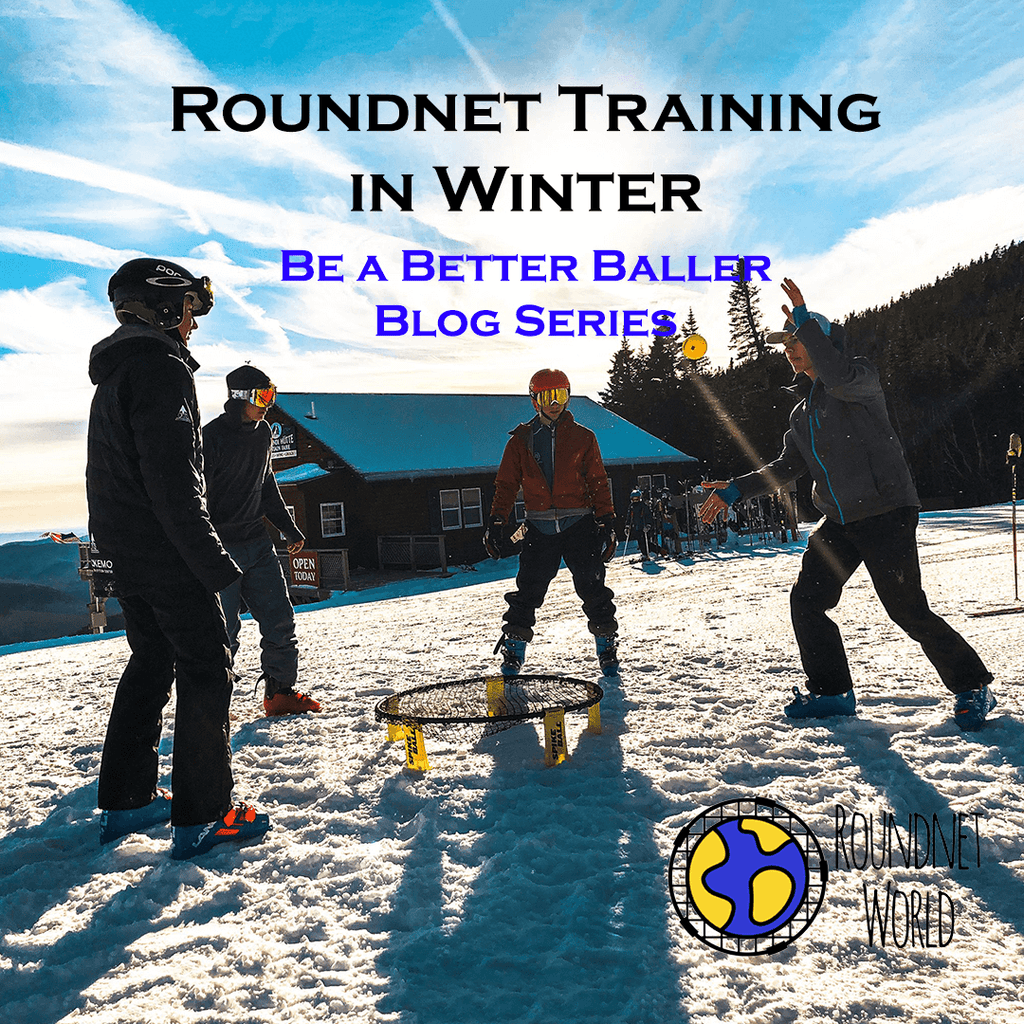 Roundnet Training in Winter