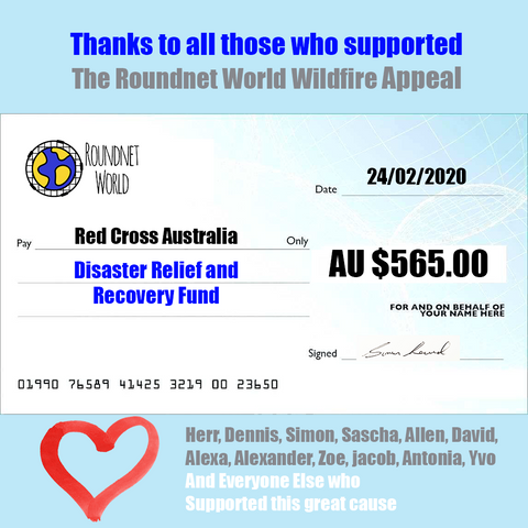Roundnet  world donation appeal for Roundnet Spikeball Australia