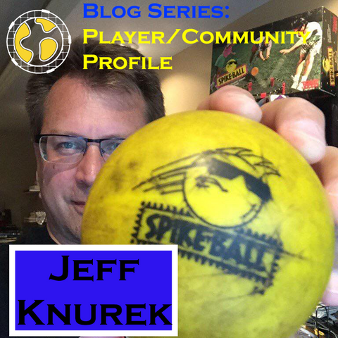Jeff Knurek club spike inventor of spikeball roundnet