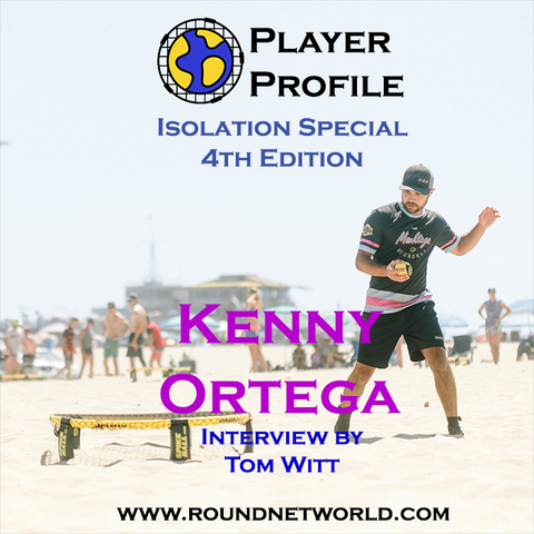Kenny Ortega spikeball roundnet pro player interview
