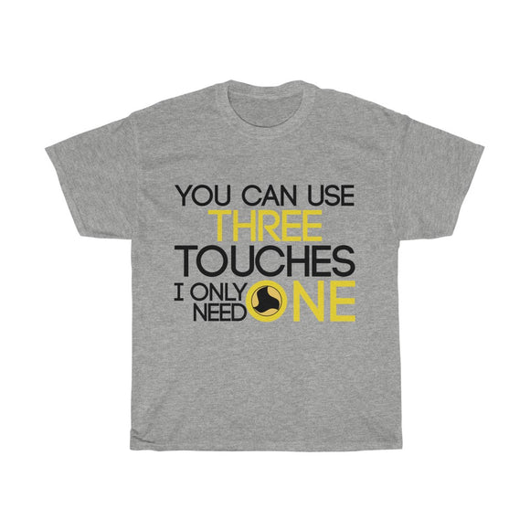 'I only need ONE' Tee - roundnet world - spikeball clothing