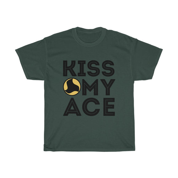 'Kiss My Ace' Tee - roundnet world - spikeball clothing