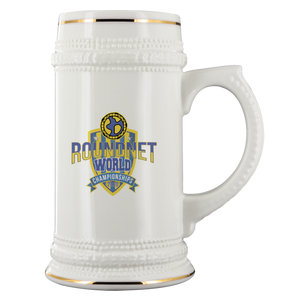 Roundnet World Championships Beer Mug - roundnet world - spikeball clothing
