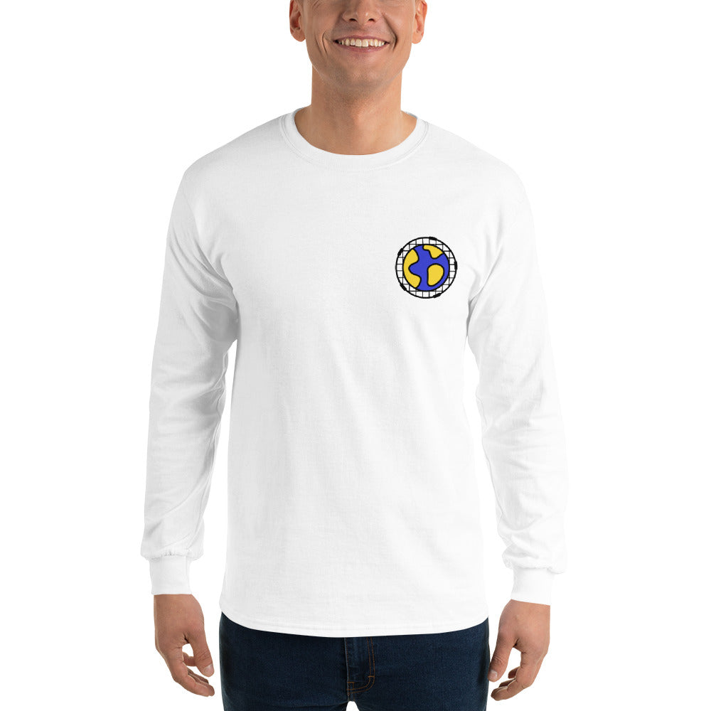 The Long Sleeved Roundnet World Jersey - roundnet world - spikeball clothing