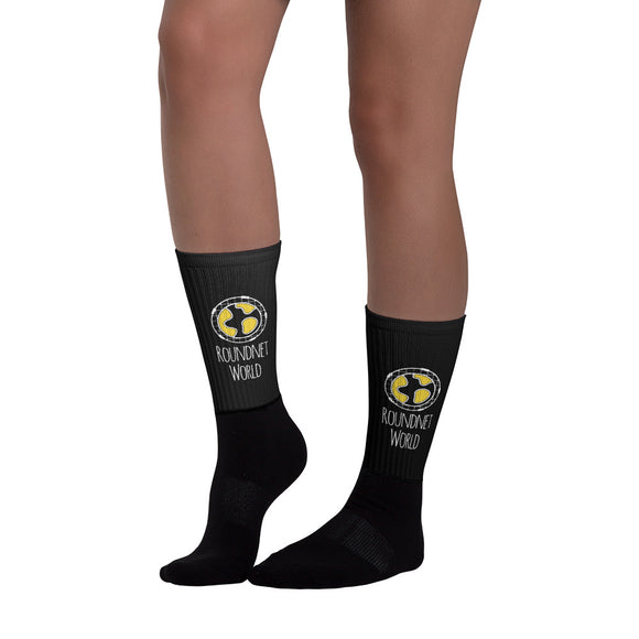 Baller Socks - Black Out Edition - roundnet world - spikeball clothing