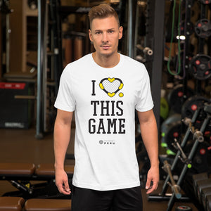 I LOVE this game tee - Roundnet Peru - roundnet world - spikeball clothing