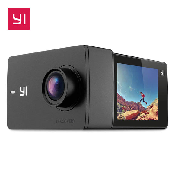 YI Discovery Action Camera 4K with 2.0 Touchscreen - roundnet world - spikeball clothing