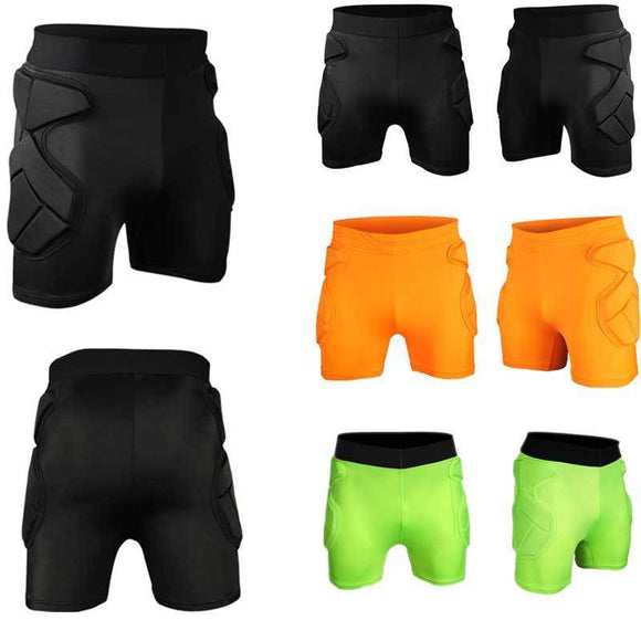 Compression Padded Shorts - roundnet world - spikeball clothing