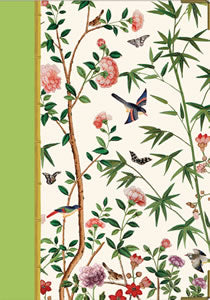 Chinese Wallpaper Lined Journal - 1 each