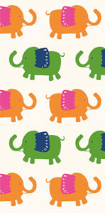 Elephant Parade Hankies - 10 per package