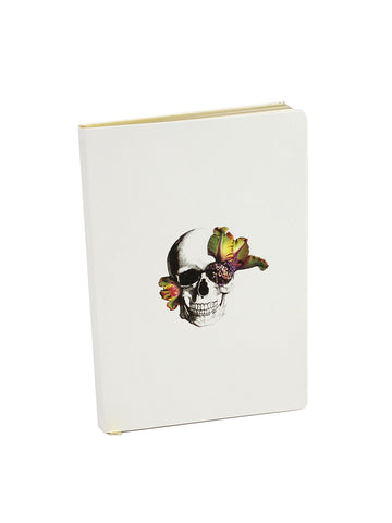 Blooming Skull Journal
