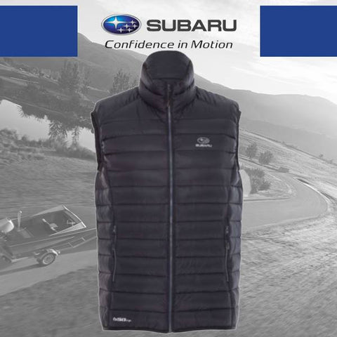 Subaru K-Way Men's Meru Down Vest - Black