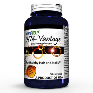 HN-Vantage capsules - Advanced All Natural Hair Growth Formula-Dietary Supplement-Advance Nanomeds LLC