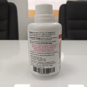 Ultranano Liposomal Vitamin C Liquid 225 mL Bottles