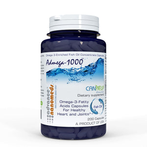 Omega 3 fatty acid capsules