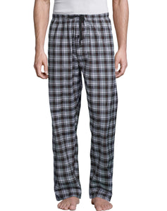 Hanes Men's Woven Stretch Plaid Pant, Style 02000S
