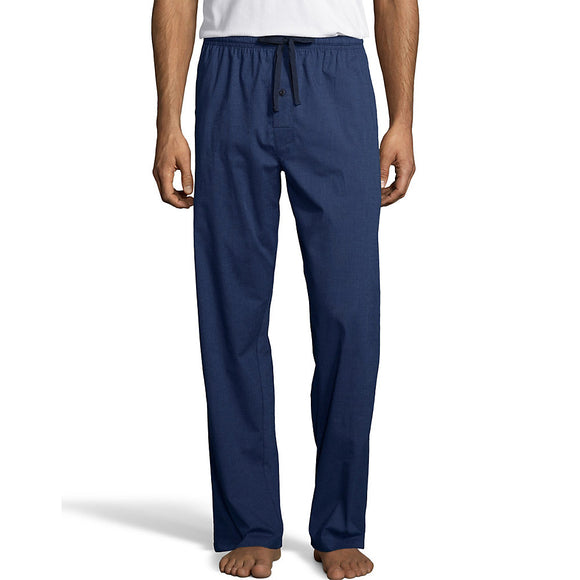 Hanes Men's Woven Stretch Plaid Pant,Style 02000S