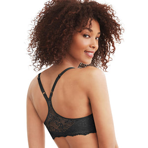 Maidenform One Fab Fit Extra Coverage Lace T-Back Bra, Style 07112
