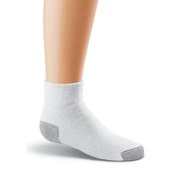 Hanes Ultimate Boys' Ankle EZ Sort® Socks 6-Pack (M-L),Style 362/6