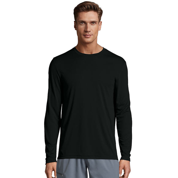 Hanes Cool Dri Performance Men's Long-Sleeve T-Shirt, Style 482L