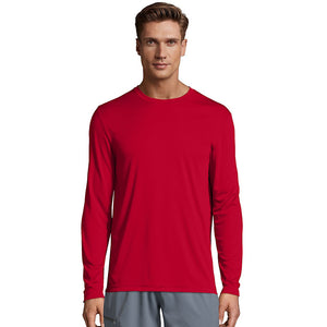 Hanes Cool DRI® Performance Men's Long-Sleeve T-Shirt,Style 482L