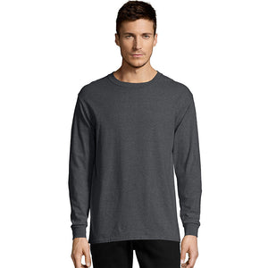Hanes Men's TAGLESS® Comfortsoft® Long-Sleeve T-Shirt,Style 5286
