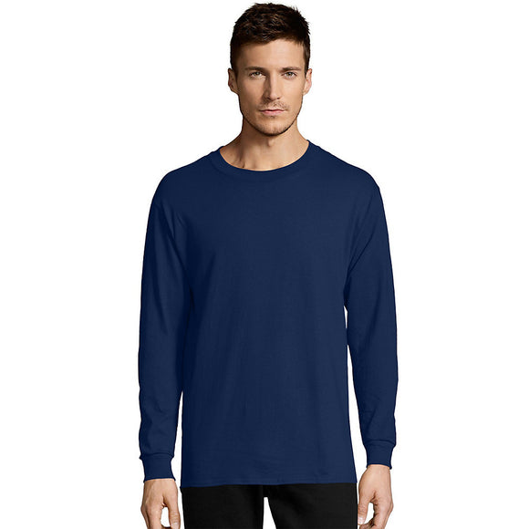 Hanes Men's Tagless Comfortsoft Long-Sleeve T-Shirt, Style 5288