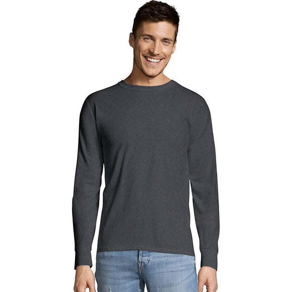 Hanes TAGLESS® Long-Sleeve T-Shirt,Style 5586