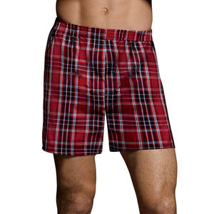 Hanes Ultimate Men's TAGLESS® Tartan Boxers with Comfort Flex® Waistband 5-Pack,Style 745BP5