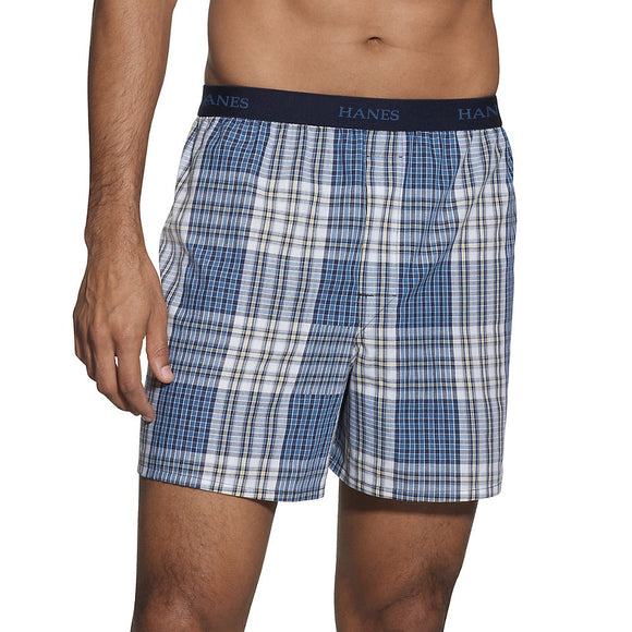 Hanes Classics Men's TAGLESS® Boxer with Comfort Flex® Waistband 5-Pack,Style 765BP5
