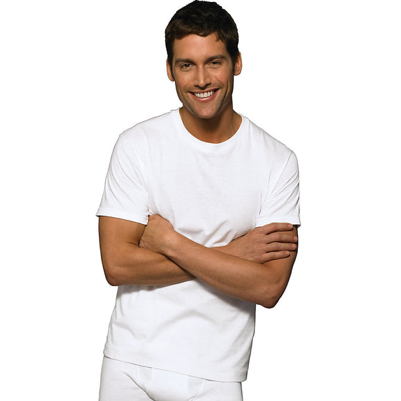 Hanes Ultimate™ ComfortSoft® TAGLESS® Men's Crewneck Undershirt 3-Pack,Style 7870W3