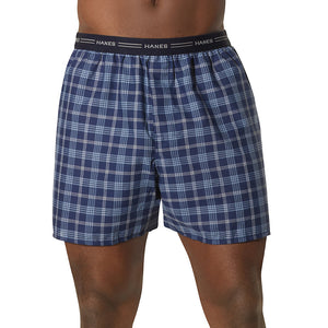 Men's Red Label Exposed Elastic Waistband Boxer P2,Style 841VTY