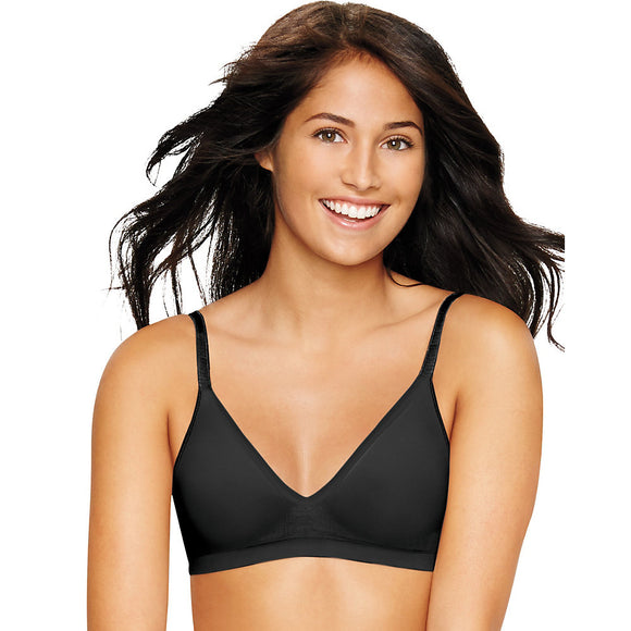 Hanes Ultimate Comfy Support ComfortFlex Fit® Wirefree Bra,Style HU11